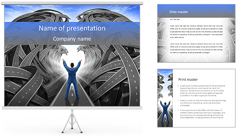 Correct Way PowerPoint Template