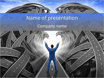 Correct Way PowerPoint Template - Slide 1