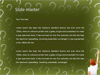 Question On Board PowerPoint Templates - Slide 2