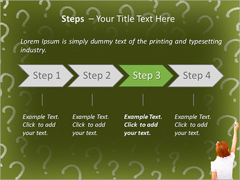 Question On Board PowerPoint Templates - Slide 4