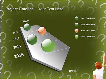Question On Board PowerPoint Templates - Slide 6