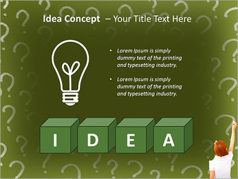 Question On Board PowerPoint Templates - Slide 60