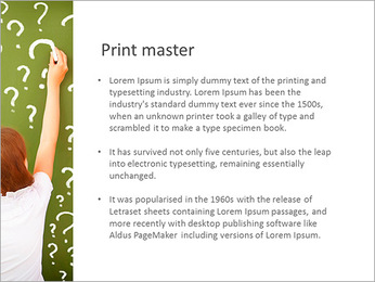 Question On Board PowerPoint Templates - Slide 76