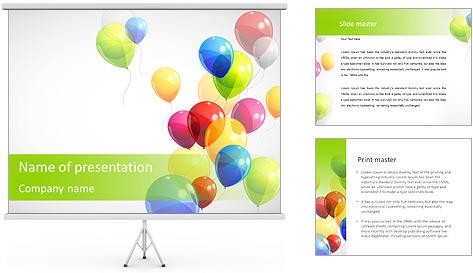 Balloon PowerPoint Template