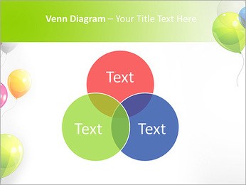 Balloon PowerPoint Template - Slide 13