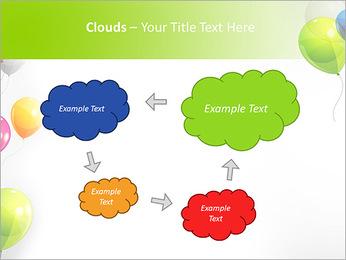 Balloon PowerPoint Template - Slide 52