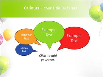 Balloon PowerPoint Template - Slide 53