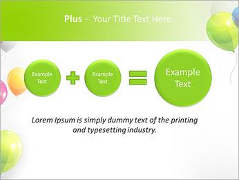 Balloon PowerPoint Template - Slide 55