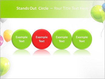 Balloon PowerPoint Template - Slide 56