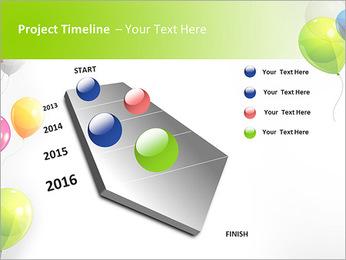 Balloon PowerPoint Template - Slide 6