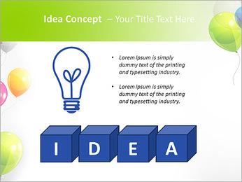 Balloon PowerPoint Template - Slide 60