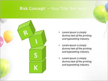 Balloon PowerPoint Template - Slide 61