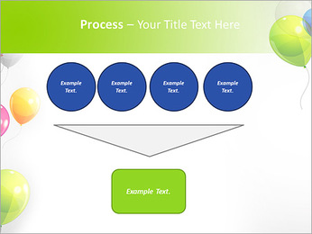 Balloon PowerPoint Template - Slide 73