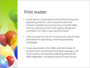 Balloon PowerPoint Template - Slide 76