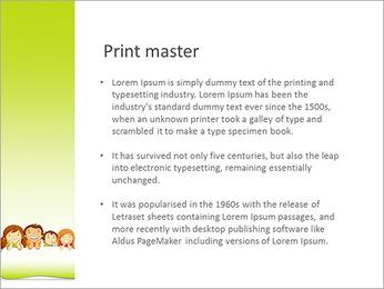 Cartoon For Kids PowerPoint Template - Slide 76