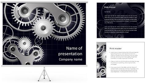 Machine Mechanism PowerPoint Template