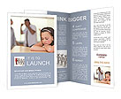 Parents Quarreling Brochure Template