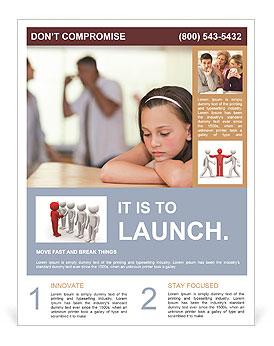 Parents Quarreling Flyer Template