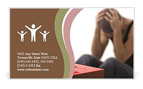 Drug Addict Business Card Templates