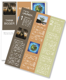 Ecology In Danger Newsletter Template