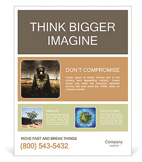 Ecology In Danger Poster Template