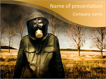 Ecology In Danger PowerPoint Template