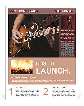 Play Guitar Flyer Template