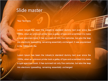 Play Guitar PowerPoint Template - Slide 2