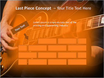Play Guitar PowerPoint Template - Slide 26