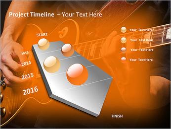 Play Guitar PowerPoint Templates - Slide 6
