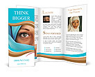 Muslim Lady Brochure Template