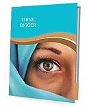 Muslim Lady Presentation Folder