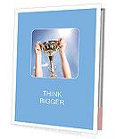 Golden Trophy Presentation Folder