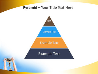 Golden Trophy PowerPoint Template - Slide 10
