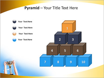 Golden Trophy PowerPoint Template - Slide 11