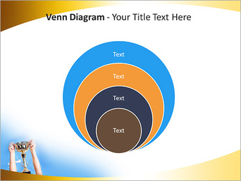 Golden Trophy PowerPoint Template - Slide 14