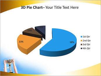 Golden Trophy PowerPoint Template - Slide 15