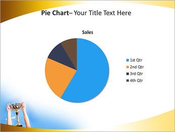 Golden Trophy PowerPoint Template - Slide 16