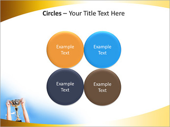 Golden Trophy PowerPoint Template - Slide 18