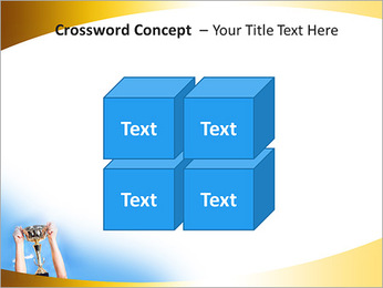 Golden Trophy PowerPoint Template - Slide 19