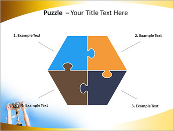 Golden Trophy PowerPoint Template - Slide 20