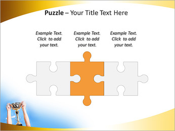 Golden Trophy PowerPoint Template - Slide 22