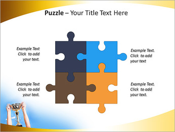 Golden Trophy PowerPoint Template - Slide 23