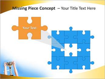 Golden Trophy PowerPoint Template - Slide 25