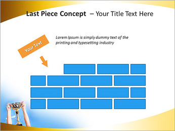 Golden Trophy PowerPoint Template - Slide 26
