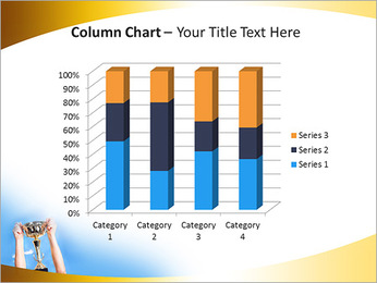 Golden Trophy PowerPoint Template - Slide 30