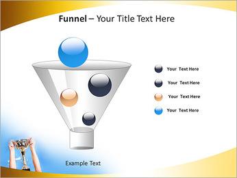 Golden Trophy PowerPoint Template - Slide 43