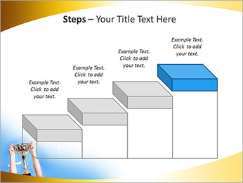 Golden Trophy PowerPoint Template - Slide 44