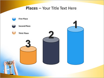Golden Trophy PowerPoint Template - Slide 45
