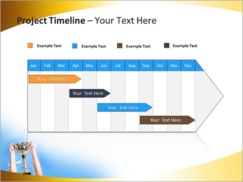 Golden Trophy PowerPoint Template - Slide 5